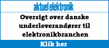 Aktuel Elektronik - underleverandøroversigt