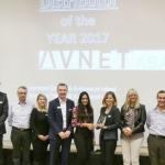 Avnet Abacus udnævnes som Årets Broadline Distributør 2017 af Panasonic