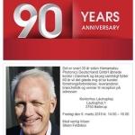 90 års fødselsdagsreception
