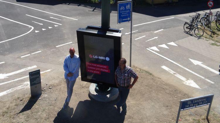 Danmark først med 5G i de smarte lysmaster