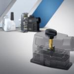 Spindler med forskellig geometri låser ODU-MAC-konnektorer sikkert og ergonomisk