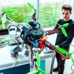 Droneteknologi i hastig global udvikling