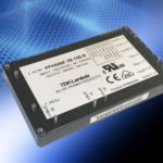 504W AC-DC conduction cooled power module offers leading edge size and PMBus™ communications