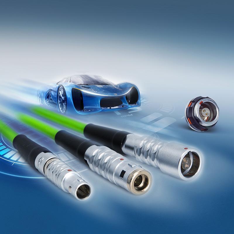 Konnektorer til Single Pair Ethernet SPE