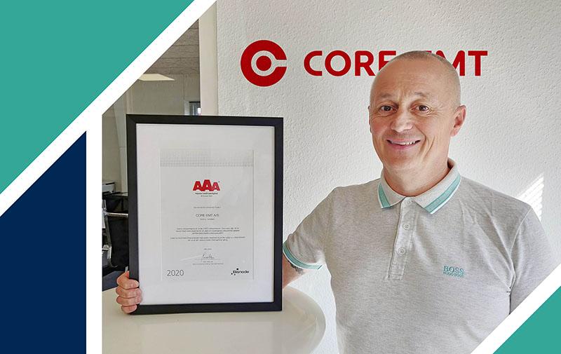 AAA kreditværdighed til CORE-emt