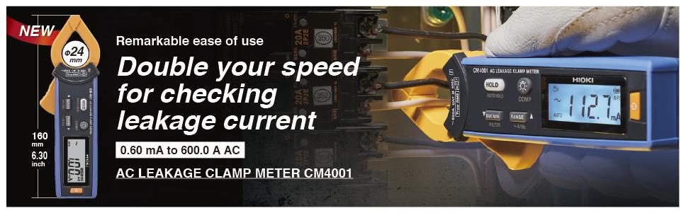 Hioki AC Leakage Clamp Meter