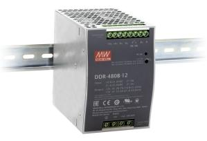 DDR-480 DIN skinne fra Meean Well. Forhandler er Power Technic ring 70 208 210
