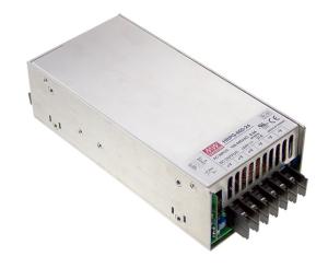 HRP-600 600W AC/DC strømforsyning til Industri og Elektronik fra MEAN WELL. Forhandler er Power Technic. Ring 70 208 210