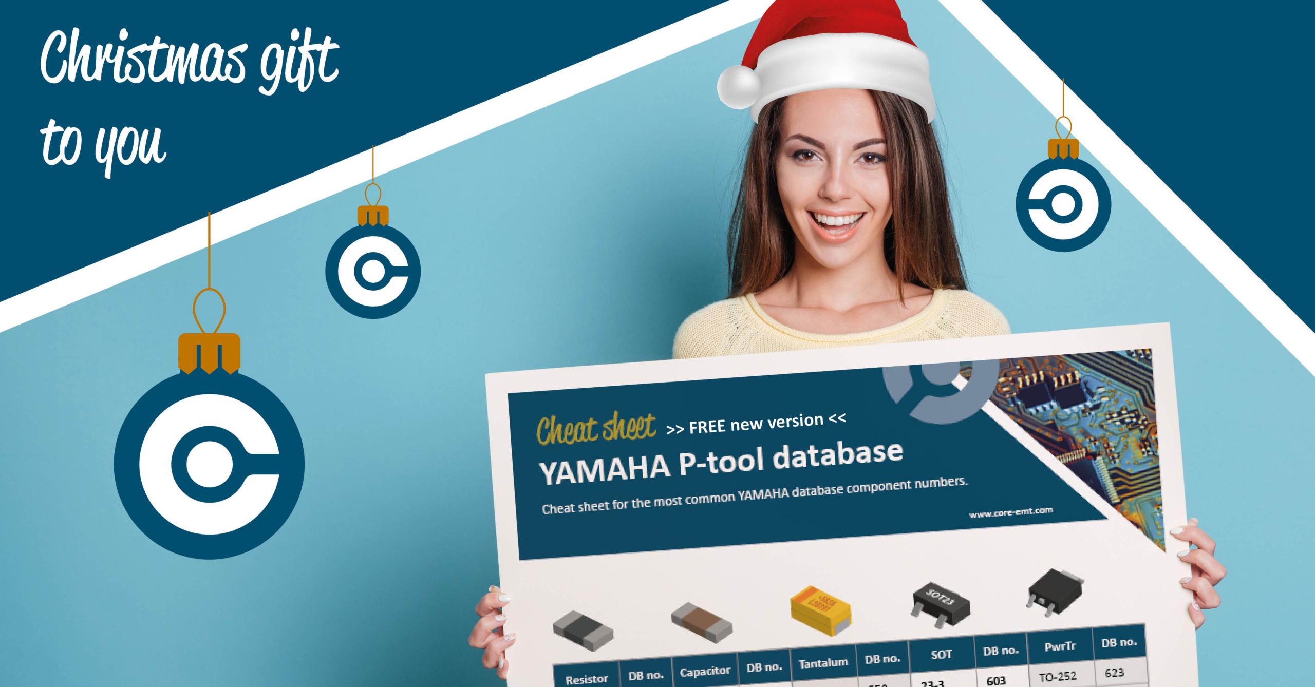 Christmas gift for you YAMAHA cheat sheet