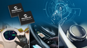 Microchip Delivers the Smallest Automotive maXTouch® Controllers for Smart Surfaces and Multi-function Displays