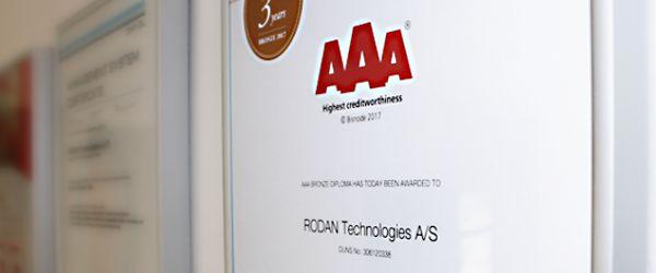 Rodan AAA-Rating