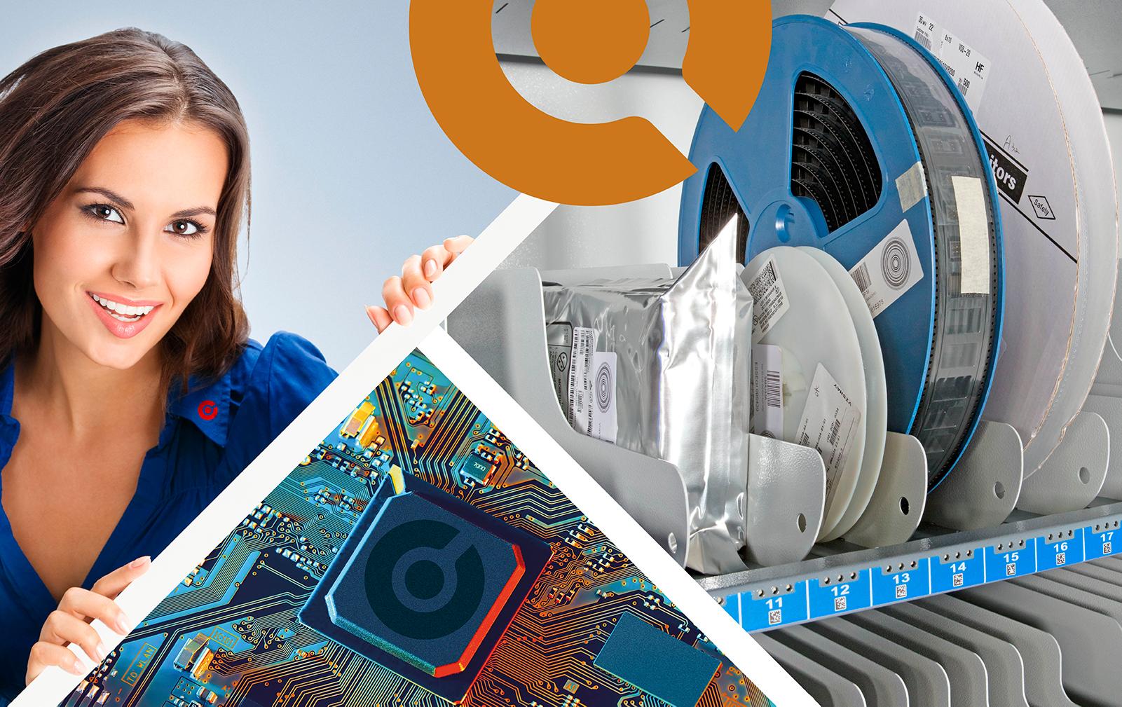 SMD håndtering med Storage Solutions