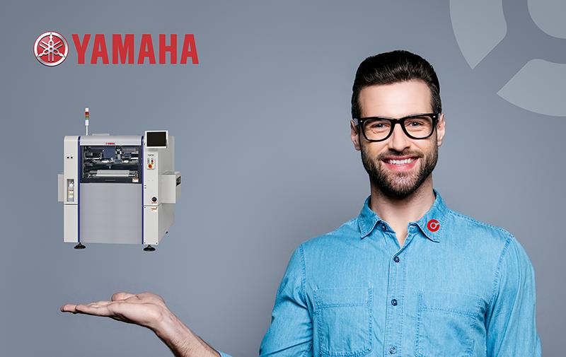 YAMAHA Screen Printer YSP10 fra CORE-emt